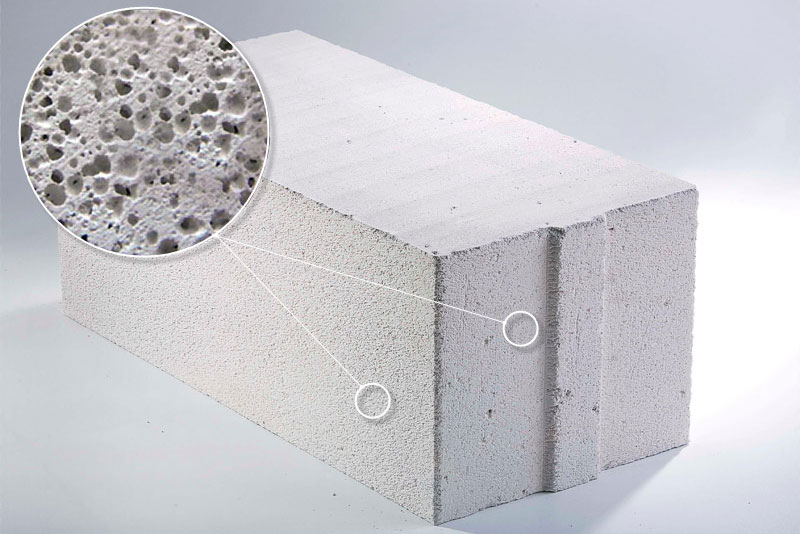 Специфика использования ячеистого бетона в строительстве